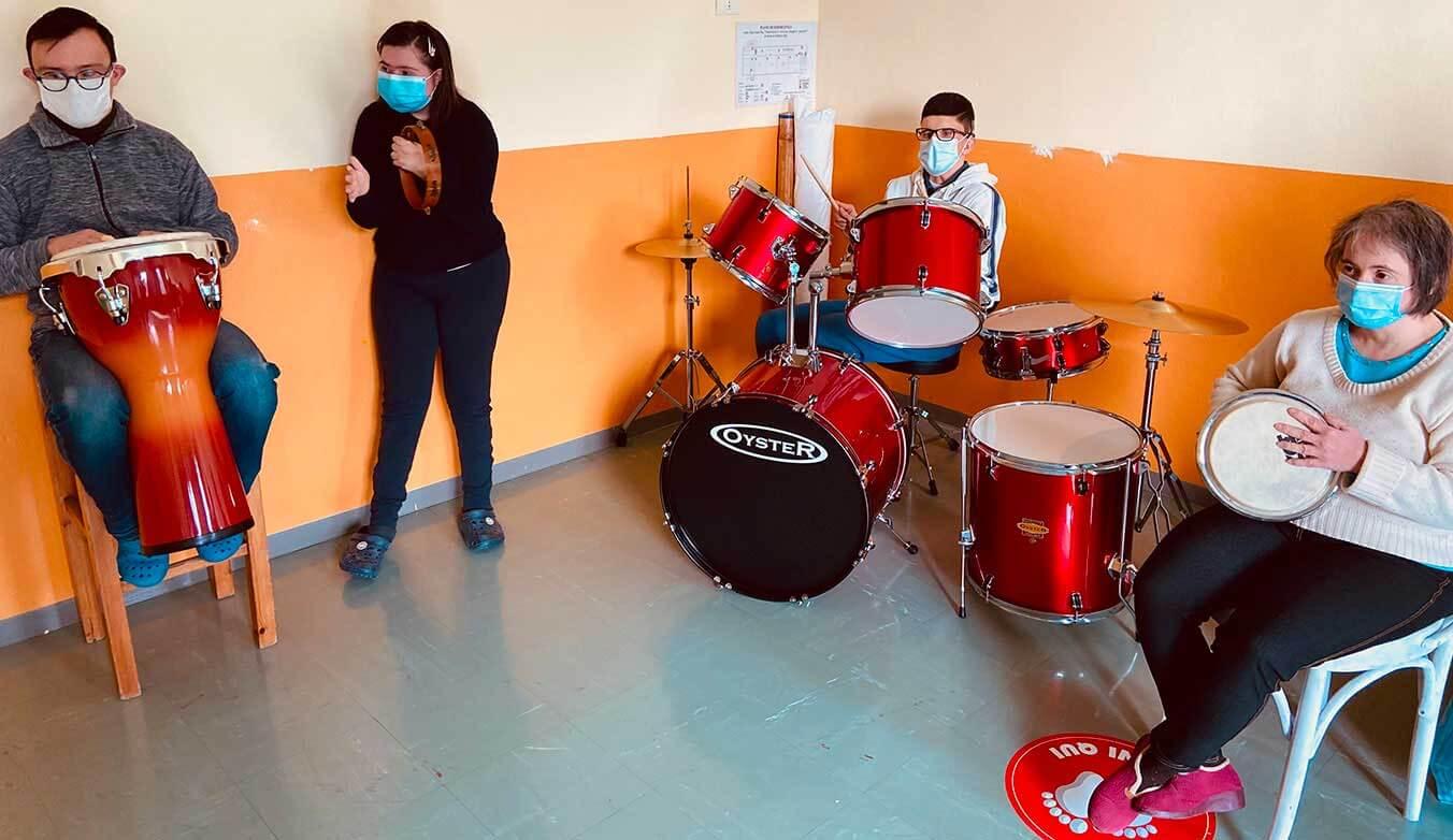 progetti territoriali laboratori musicali - Cooperativa Il Fiore